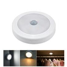 Гардероб светодиодный свет освещение с пассивным ИК-датчиком кухонная лампа Luces шкаф датчик движения светодиодный ночник освещение