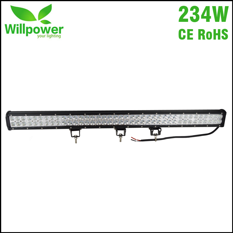 Combo beam 36 Inch Led Light Bar 23400lms truck 234w LED Work Light bar waterproof 12v