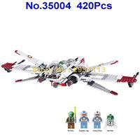 WAZ 35004 Star Wars Captain Clone Pilot R4 P44 ARC 170 Fighter Lele Building Blocks