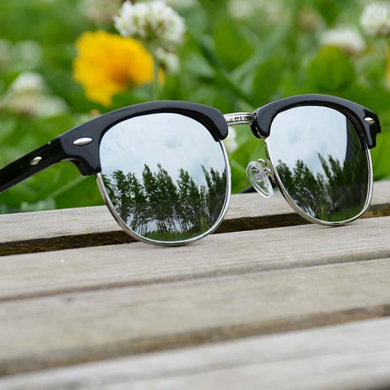 Wanita sunglasses pria terpolarisasi Lady retro sunglasses biru - Aksesori pakaian
