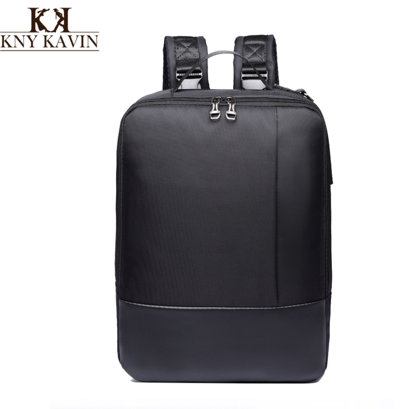 KNY KAVIN Laptop Computer Tablet Backpack Multipurpose Messenger Shoulder Bag Male Fashion School Bags Women Backpacks mochila цена