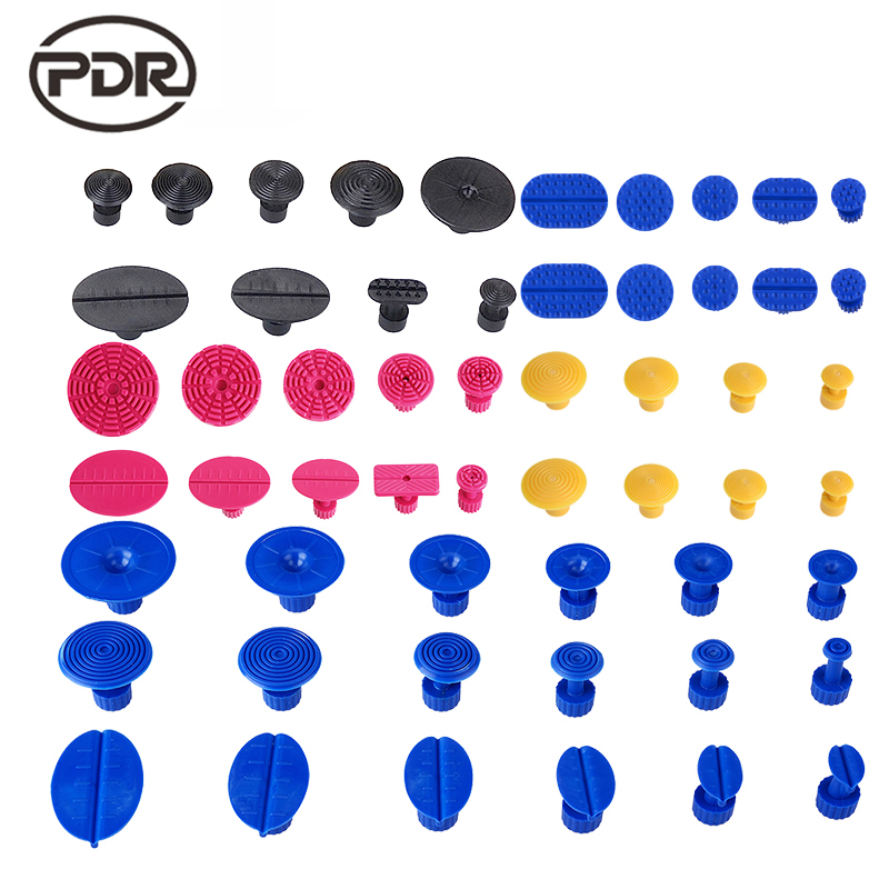 PDR Tools Paintless Dent Repair Dent Removal Glue Tabs Fungi Suction Cup Suckers 45pcs /set High Quality|paintless dent repair|pdr tools|paintless dent - title=