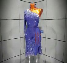 Vestido de salón para mujer, para bailar Salsa, Rhythm, Rumba, Latina, US 10, UK 12