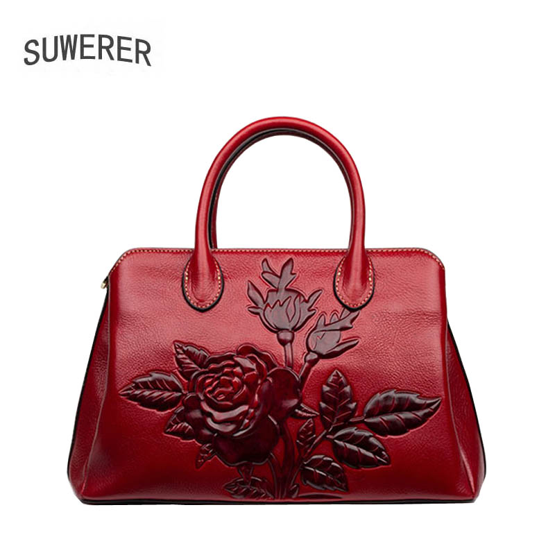2018 new fashion embossed handbag Women's leather handbag Fashion personality shoulder Messenger Bag 2018 new leather handbag summer ladies messenger bag leather embossed fashion shoulder bag