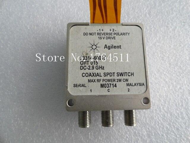 [BELLA] ORIGINAL Agilent 33314-60015 DC-2.9GHz SPDT 15V