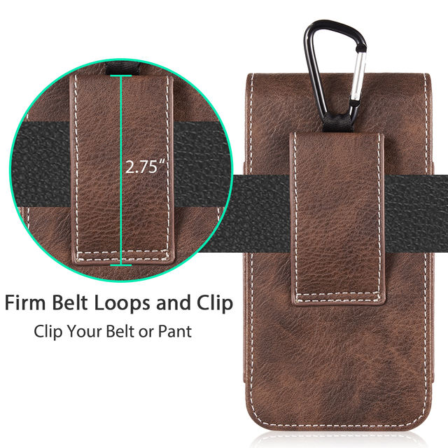 Leather Pouch Phone Case