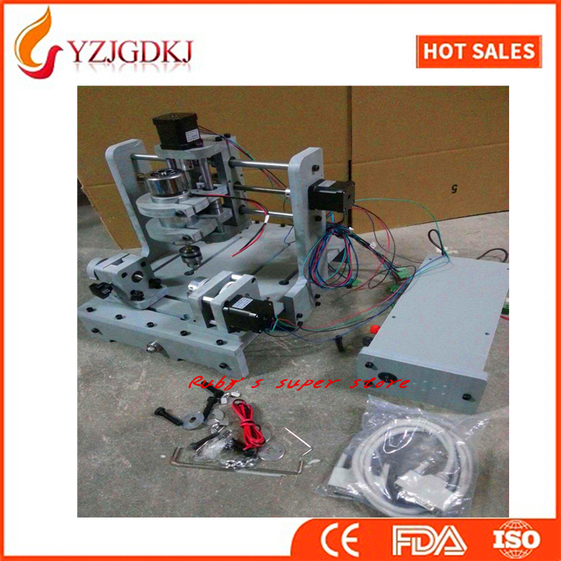 3 Axis T type Screw Small CNC milling engraving machine PCB Milling Machine support MACH3 software