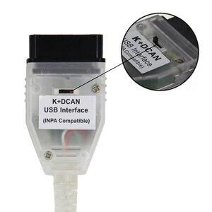 Image 5 - BMW INPA K DCAN K + CAN FT232RL FT232RQ 용 최고 품질의 풀 칩 BMW 시리즈 용 USB 진단 인터페이스 INPA 호환