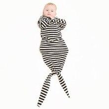 12-24M 2016 Newborns Baby 0-24 Months Boys Girls Cotton Cute Mermaid Sleeping Bags Baby Sleeping Clothing Infant Swaddle