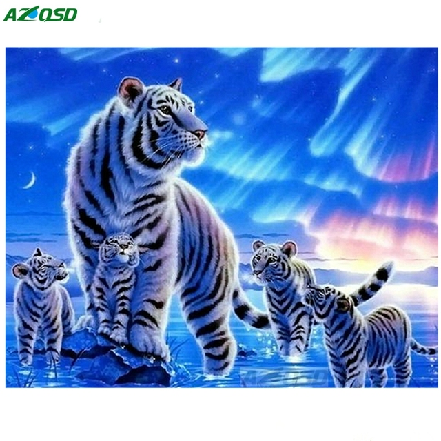 Home Decoration Painting Pop Art Elephant Oil Painting On
