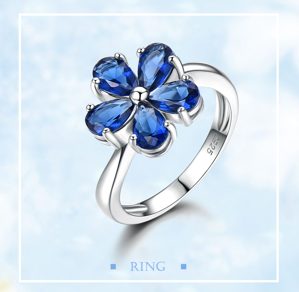 UMCHO Created Nano Sapphire 925 sterling silver rings for women EUJ091S-1-pc (1)