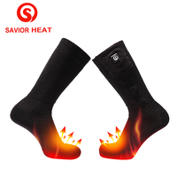 SAVIOR heating socks for men and women battery heating warm outdoor ski riding sports socks