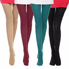 Women Sexy Warm Tights Spring Autumn Seamless Pantyhose 120D Velvet Medias Elastic Strumpfhose Slim Collant Femme