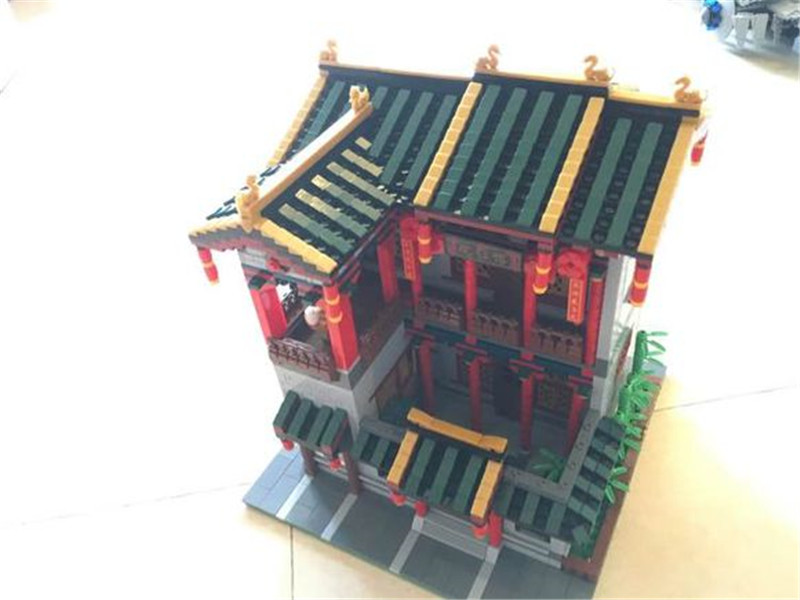 3320Pcs Series The Chinese Traditional Architecture Children XingBao MOC Educational Building Blocks Bricks funny Toy mini architecture series 4 cubicfun 3d educational puzzle paper