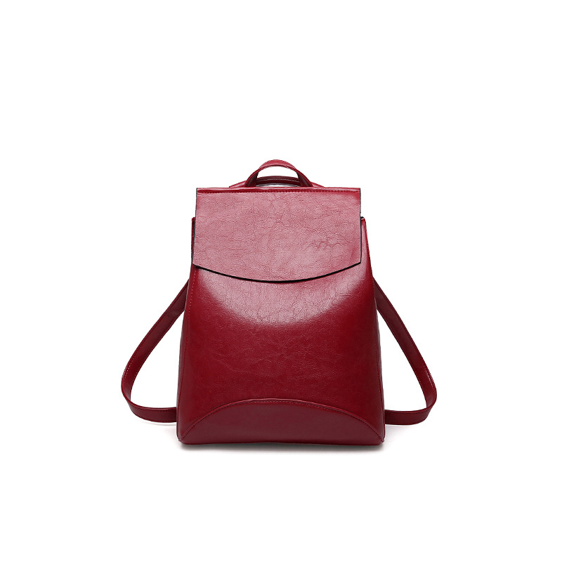 Women Vintage Backpack High Quality Fashion Multifunction Laptop Pu Leather shoulder Backpacks For Teenage Girls School Bags jmd vintage women backpack for teenage girls school bags fashion large backpacks high quality genuine leather travel laptop bag