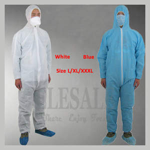 ELESESAFE 1Pcs Overall Suit Clothes Work Safety Clothing