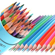 лучшая цена Deli Drawing Graphite Color Pencil Water Soluble Color Pencil 12/18/24/36 Colors Box Art School Artist Supplies Colour Pencils