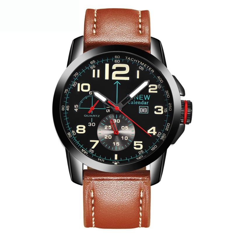 XINEW Brand Men Army Military Watch Clock Retro Leather Band Date Analog Quartz Watch Steel Dial Sport Watches relogio masculino durable reloj hombre luxury brand xinew watch men vintage brown mens analog steel case date leather brand sport quartz watch