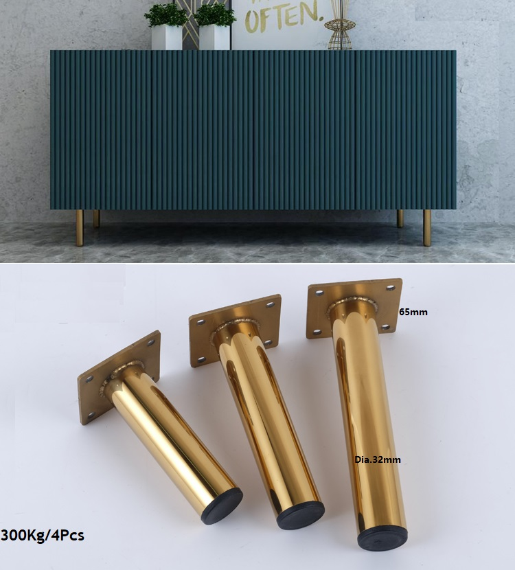 4 шт./лот Premintehdw золотые мебельные ножки для мебели|Мебельные ножки| |