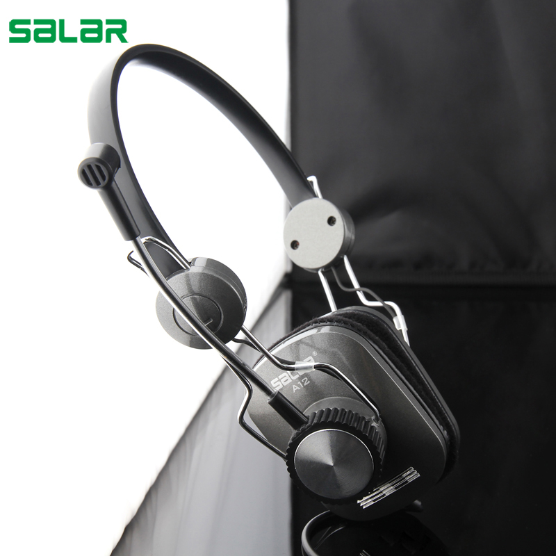 Salar A12 Gaming Headset earphone Headphones with Microphone Stereo Surround Headband for Computer PC Gamer уровень ada titan 1200
