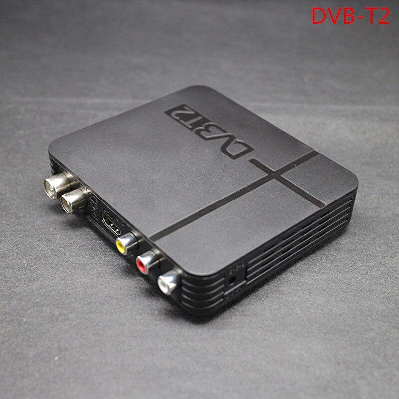 Desxz HDMI 1080P DVB T T2 TV Box AV CVBS Tuner Receiver With Remote Control HDMI