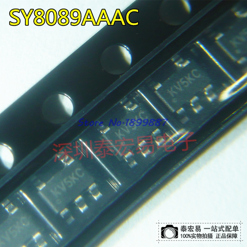 10pcs/lot SY8089AAAC SOT23-5 SY8089 SOT