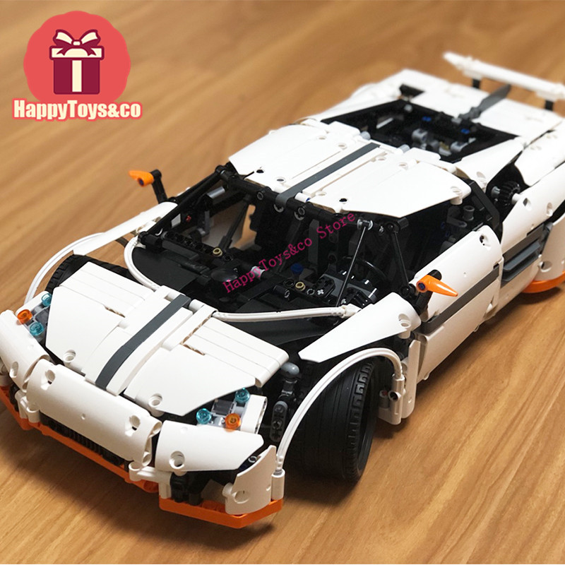 New Technology Series 2811 1950Pcs The Predator Supercar toys For Children Gift 20052 Building Blocks Set Compatible Education wange mechanical application of the crown gear model building blocks for children the pulley scientific learning education toys