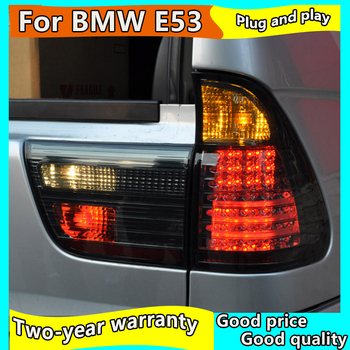 Car Styling Tail Lamp for BMW E53 X5 Tail Lights 1998-2006 year for E53 Rear Light DRL+Turn Signal+Brake+Reverse