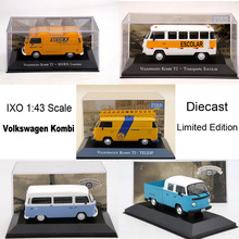 IXO 1:43 V~W Kombi T2 Gurgel Itaipu E400 Diecast Toys Models Car Limited Edition Collection premium x resin 1 43 volvo 144s 1967 black prd245 models car limited edition auto collection