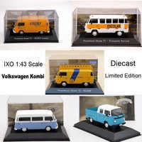 IXO 1:43 V ~ W Kombi T2 Gurgel Itaipu E400 moulé sous pression jouets modèles voiture série limitée Collection
