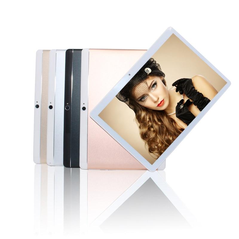 "10,1 ""mtk6582 3g Anruf Tablet Metall Abdeckung Ips Android 6.0 Quad Core + Dual Sim + Gps + Taschenlampe + Bluetooth + 1g/16g + 5000 Mah + Wifi QualitäTswaren"
