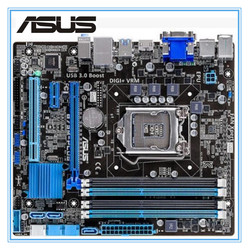 Desktop Motherboard Asus B75M-PLUS Used Mainboard  B75 Socket LGA 1155 i3 i5 i7 DDR3 16G uATX