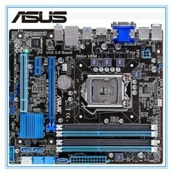 Placa base de escritorio Asus B75M-PLUS placa base usada B75 Socket LGA 1155 i3 i5 i7 DDR3 16G uATX