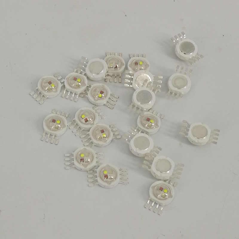 8 sztuk/partia LED RGBW 4in1 LED RGBW oświetlenie LED chipy czerwony/zielony/niebieski/biały szybka wysyłka, SHEHDS