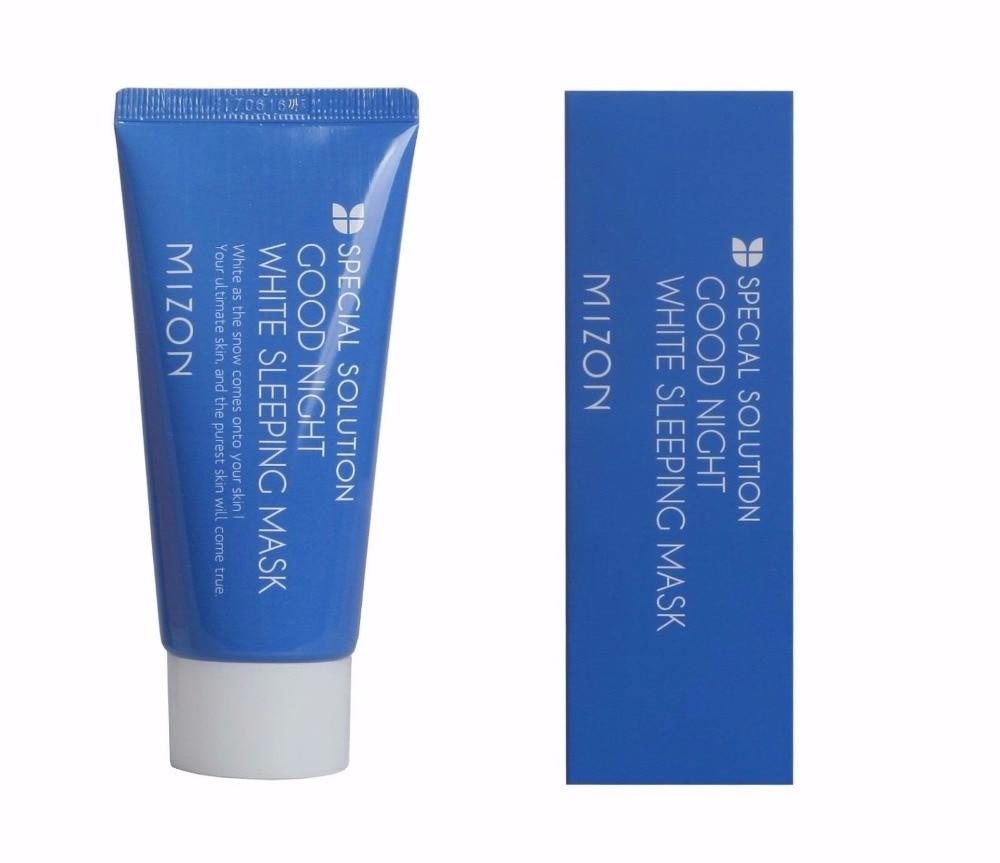 MIZON Good Night White Sleeping Mask Tube 50ml Facial Mask Skin Care Face Mask Korea Cosmetic Skin Whitening Mask