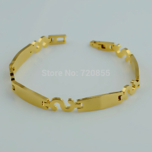 Anniyo 19.5cm Bracelets gold shade For girls pulseras mujer watch bands attraction,Reward for mother,Thanks presents