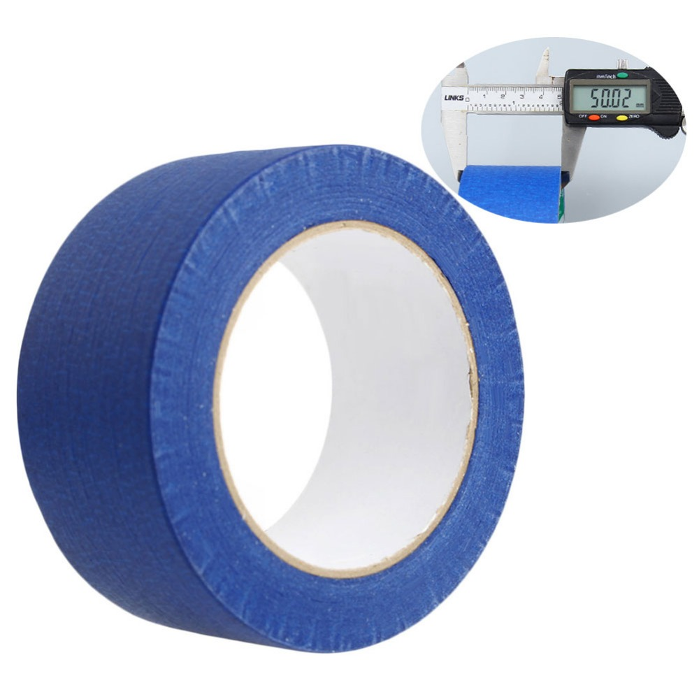 50mx50mm Masking Tape Painters Printing Masking Blue For Reprap 3D Printer New 9 2016 new 3d color printer dual kit for sale 3dprinter electronics with one roll filament masking tape 2gb sd card for free