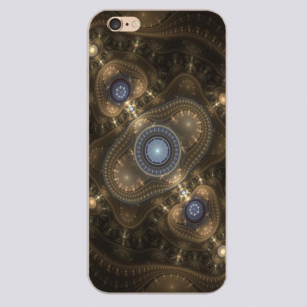steam punk Design phone cover cases for iphone 4 5 5c 5s 6 6s 6plus Hard Shell