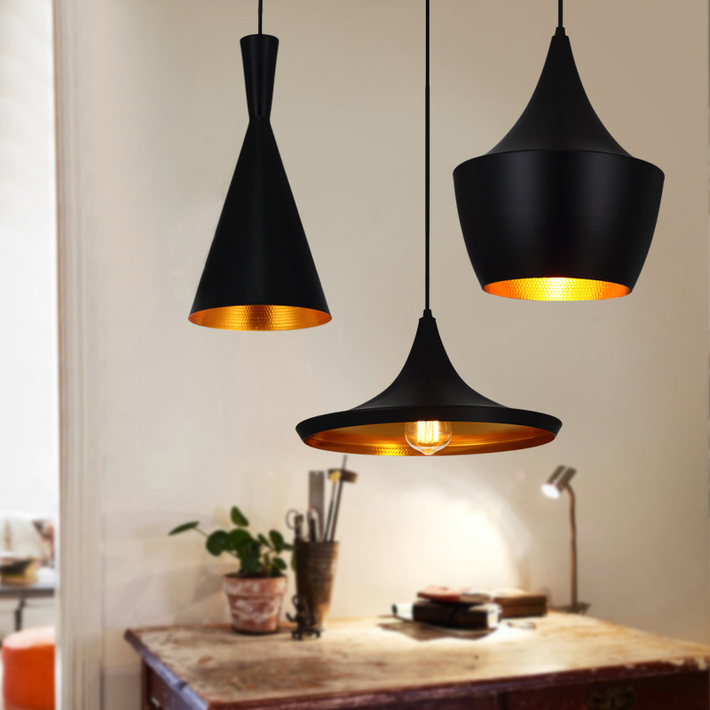 Vintage Pendant Lights Loft Lamp Avize