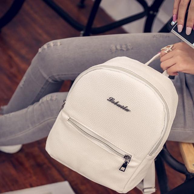 cc50a31a91e3 US $9.68 |TweetBird Sweet College Wind Student Backpack Mini Shoulder Bag  High Quality PU Leather Fashion Girl Small Backpacks Female Bag-in  Backpacks ...