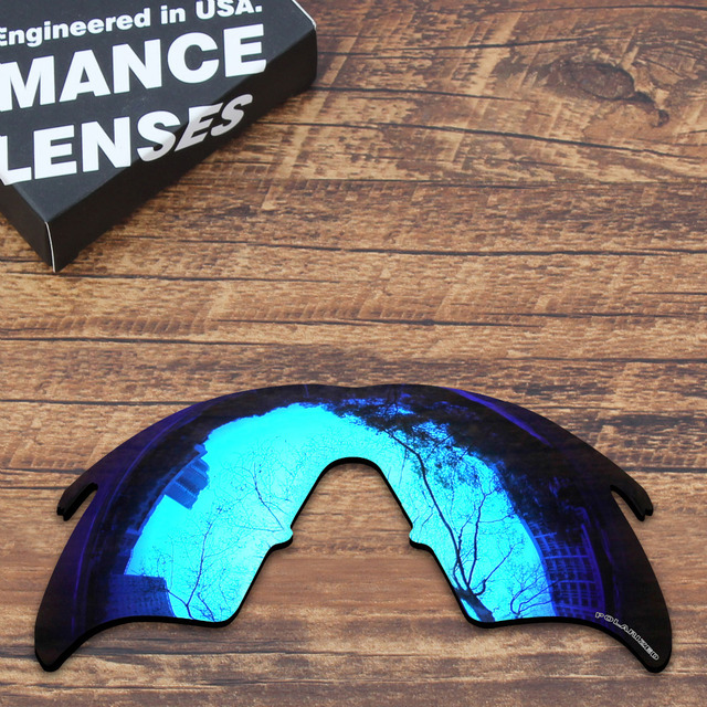 026d2aa4c4 ToughAsNails Resist Seawater Corrosion Polarized Replacement Lenses for  Oakley M Frame Heater Sunglasses Blue Mirrored