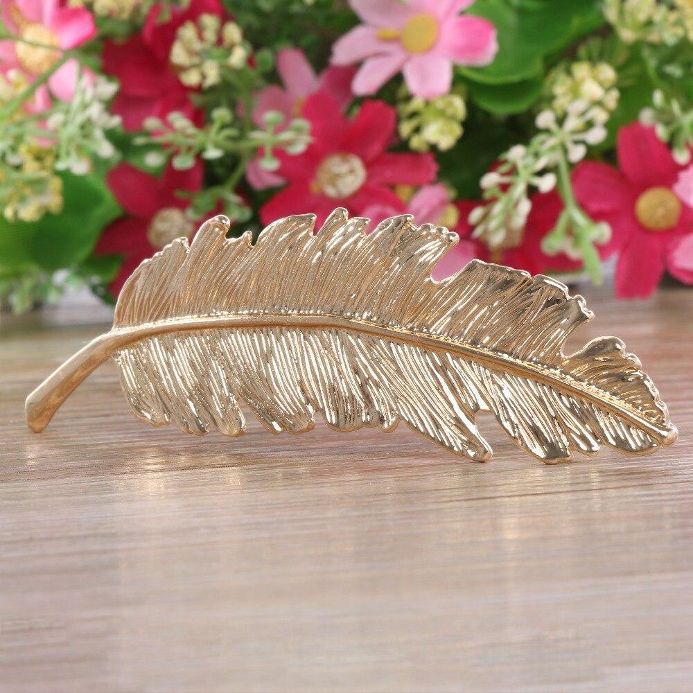 1 pcs Fashion Metal Leaf Hair Clip Hairpins Wedding mariage Hair pin Hair Jewelry Accessories Sale