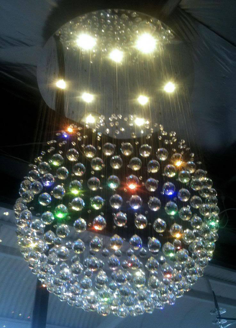12-LED-Bulbs-D80CM-H120CM-Staircase-Modern-Crystal-Chandelier-Round-RainDrop-Hanging-Light