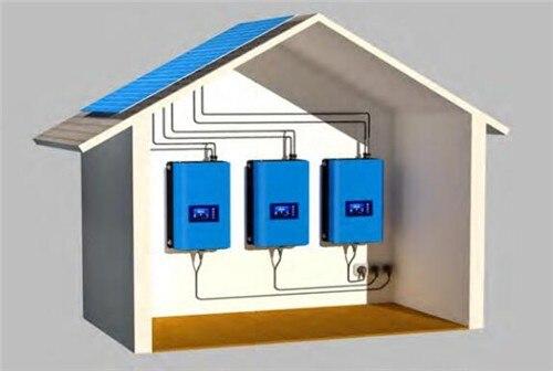Image 4 - 2000W Battery Discharge Power Mode/MPPT Solar Grid Tie Inverter 2KW with Limiter Sensor DC 45 90V AC 220V 230V 240V PV connectedInverters & Converters   -