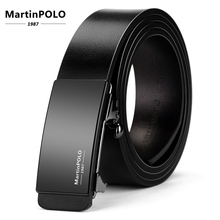Newly Belts Man Hot Fashion Cowhide Leather Men Designer Luxury Famous High Quality Automatic Buckle Men Belts for Men MP01101P