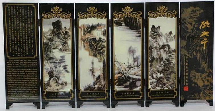 Ev ve Bahçe'ten Statü ve Heykelleri'de Zarif manzara lak süreci küçük ekran Çin özellikleri ile title=