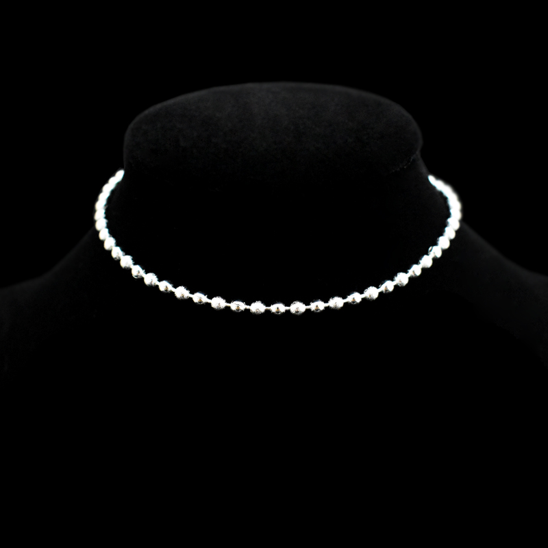 New Classic Simple Small Round Ball Bead Anklets Foot Chain For 925 Sterling Silver Ladies Foot Anklet Bracelet Women Jewelry 5
