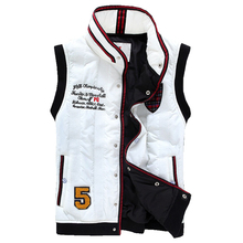 New fashion cotton down vest sleeveless jacket hooded waistcoat free shipping 6 colors CMJ05