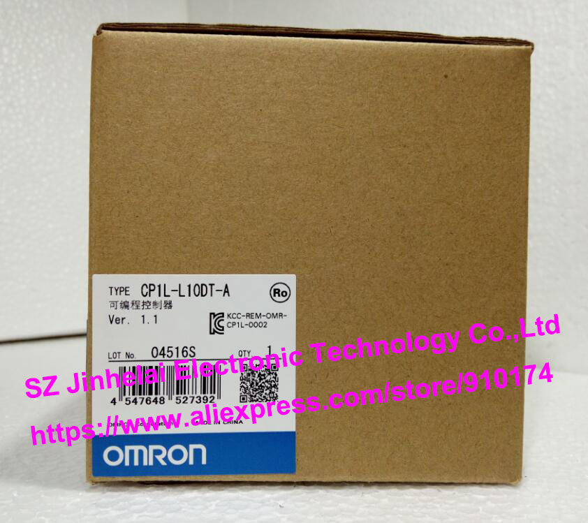 100% New and original  CP1L-L10DT-D  OMRON PLC CONTROLLER new and original e3x da11 s omron optical fiber amplifier photoelectric switch 12 24vdc