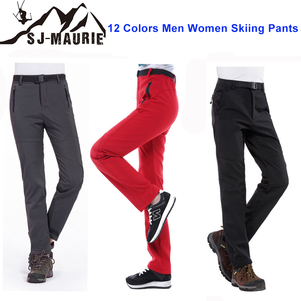 SJ-Maurie 2018 Winter Skiing Pants Waterproof Outdoor Skiing Hiking Climbing Combat Trousers Tactical Sports Snow Pants S-3XLSJ-Maurie 2018 Winter Skiing Pants Waterproof Outdoor Skiing Hiking Climbing Combat Trousers Tactical Sports Snow Pants S-3XL